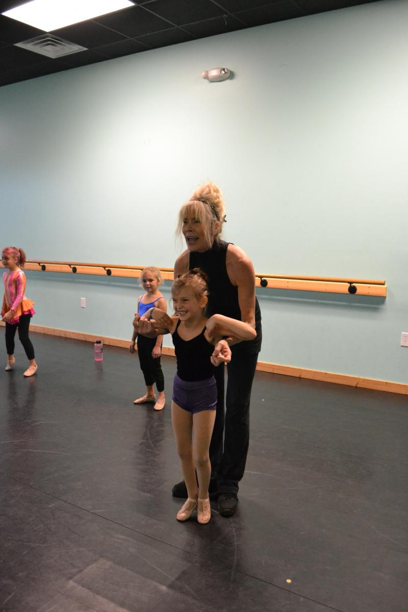 Aspiring dance artists learn from the Wilmington NC area's finest arts educators