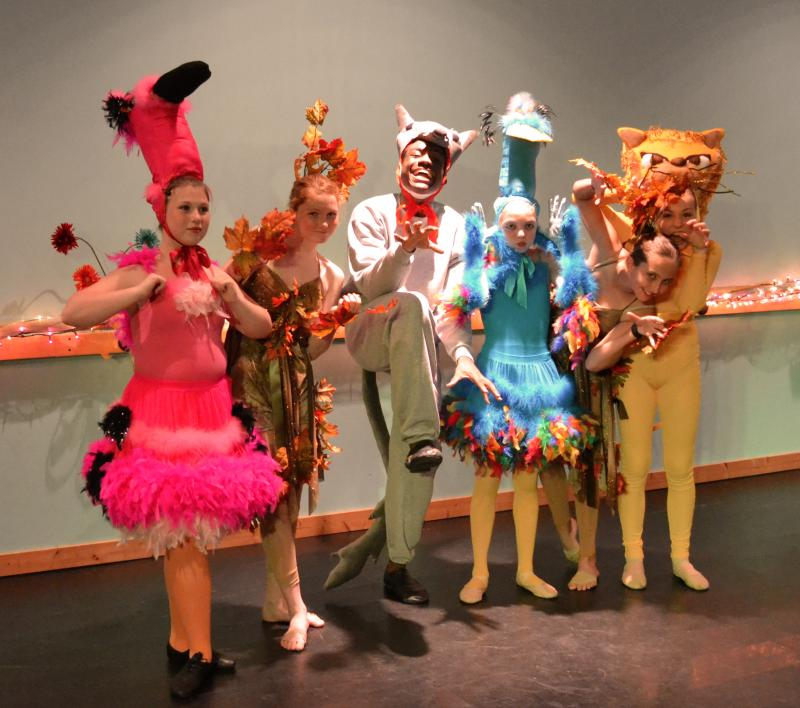 Dance students in Wilmington NC perform in spectacular staged productions.