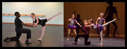 Dance Students enjoy learning from the best teachers in Wilmington NC