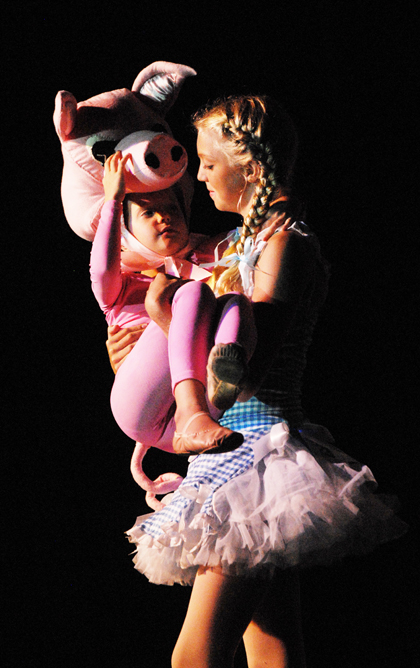The Dance Element studio in Wilmington NC produced Charlotte's Web in 201