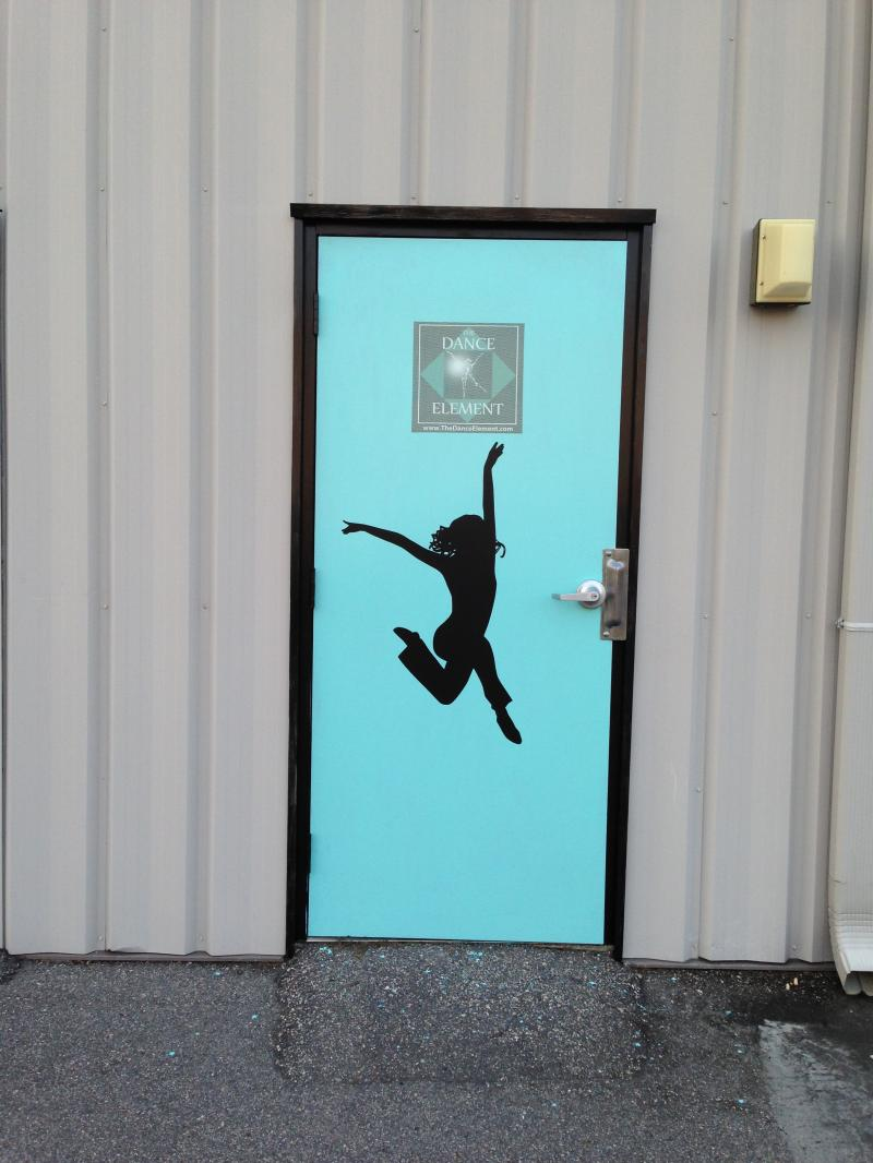 The Dance Element is in the Ogden Business Park near Wilmington and Hampstead NC