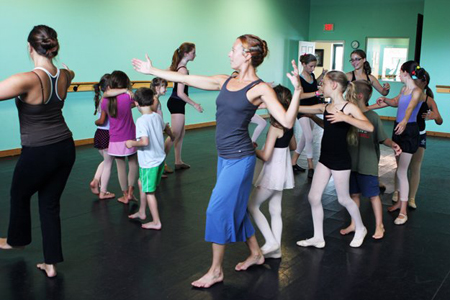 Ashley Barnes is one of Wilmigton NC's top ballet teachers and directors.
